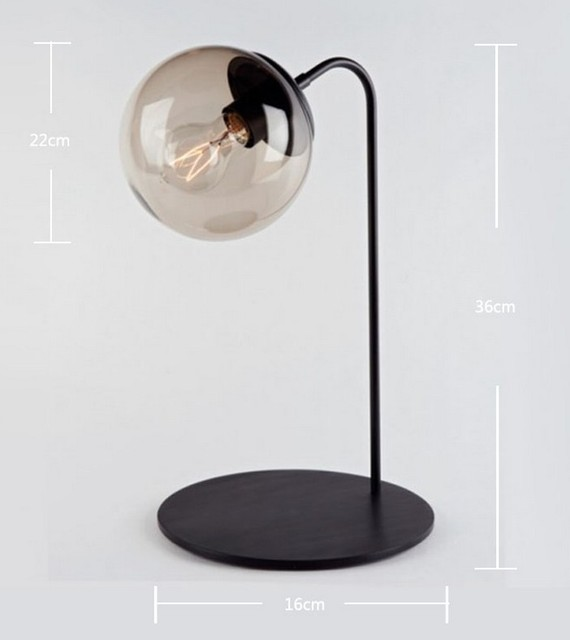 ikea black glass ball table lamp contemporary table lamps new. Black Bedroom Furniture Sets. Home Design Ideas