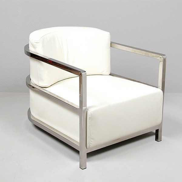 Modern Art Deco Chair - Modern - Living Room Chairs - other metro - by ...