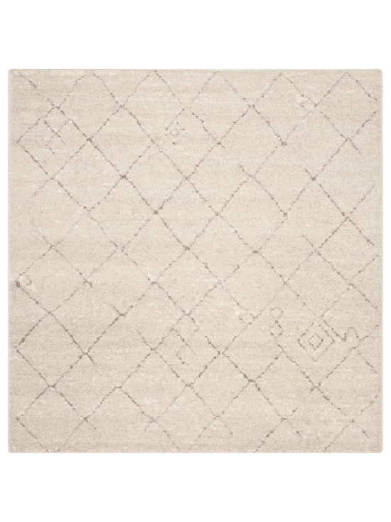 Safavieh - Safavieh Tunisia Ivory Rug (6' Square) - Safavieh's Tunisia collection is inspired by timeless vintage designs crafted with the softest polypropylene available. This lovely rug comes in vibrant Tunisia ivory.