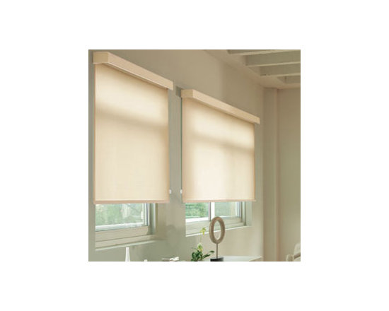 Levolor - Levolor Roller Shades: Contemporary Blackout - Levolor Roller Shades offer contemporary yet classic style and easy operation.  The Contemporary Blackout fabric collection features a very contemporary color selection with heavy blackout material.