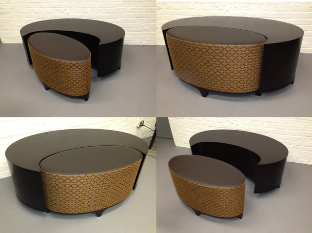 Custom Built Furniture - Contemporary - Ottomans And Cubes - chicago - by Covers Unlimited ...