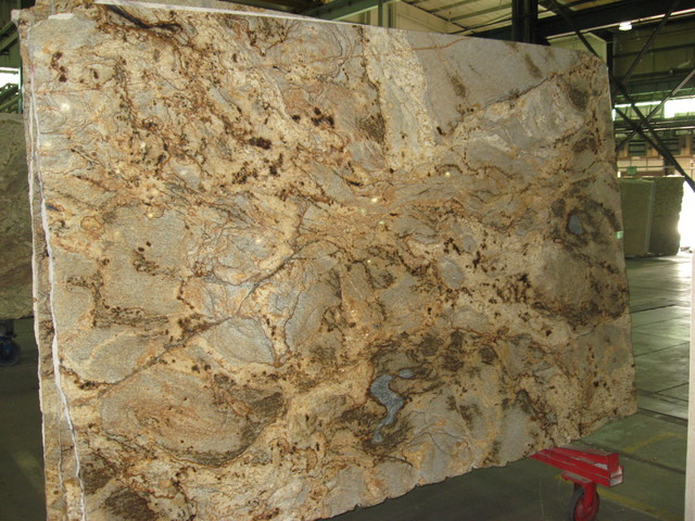 Golden Crystal Granite Kitchen Countertops Louisville