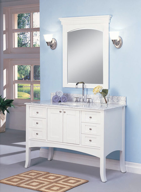 Fairmont Designs Shaker 125-48, 185-48 traditional bathroom vanities and sink consoles