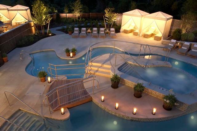 Resort Landscape contemporary