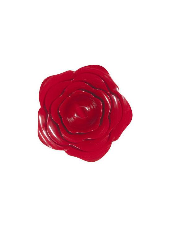 Red Rose Bowl Set -