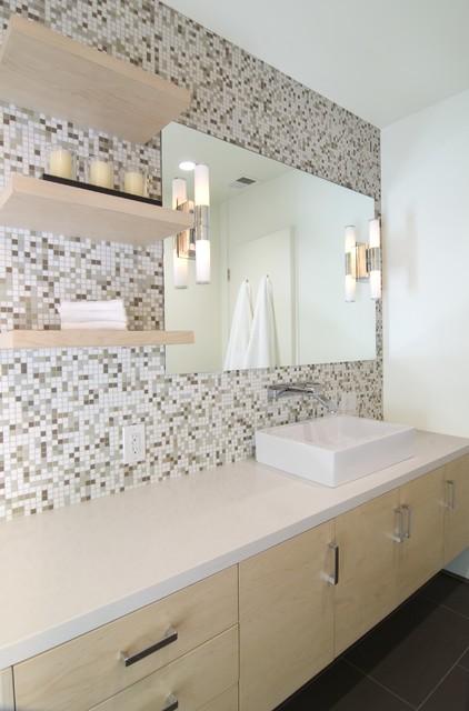 Modern eco friendly bathroom remodel modern bathroom los angeles by alison designs for Eco friendly bathroom remodel