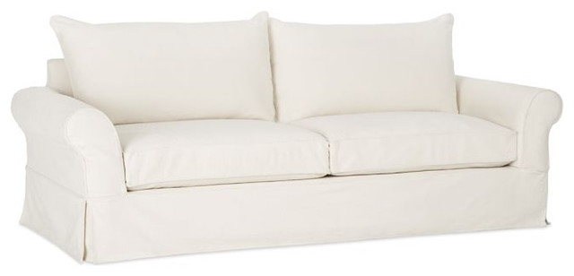 PB Comfort Slipcovered Sofa traditional sofas