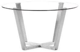 Brush Dining Table By Zuo Modern contemporary dining tables
