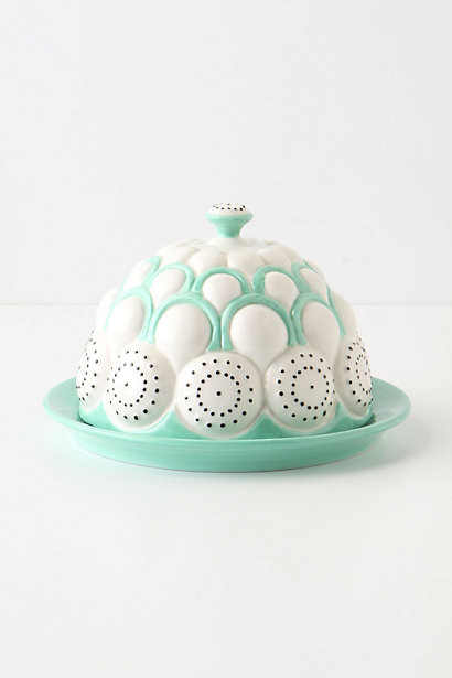 Brassica Butter Dish eclectic-butter-dishes