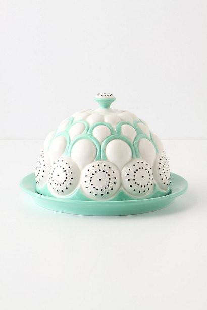 Brassica Butter Dish eclectic-serveware
