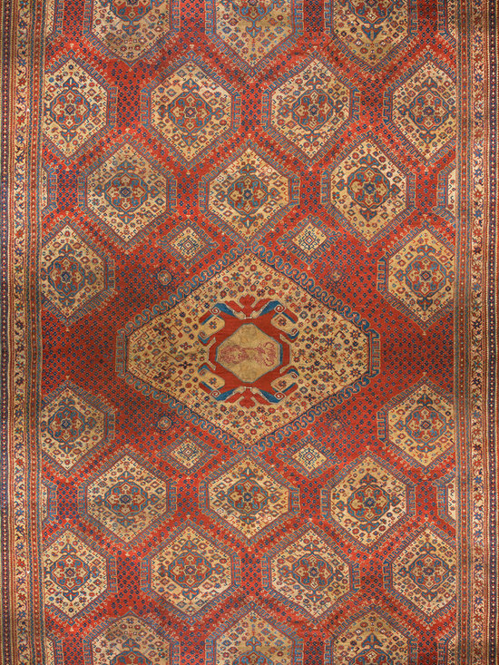 Antique Turkish Oushak Carpets - #40-2511 antique Turkish Oushak carpet