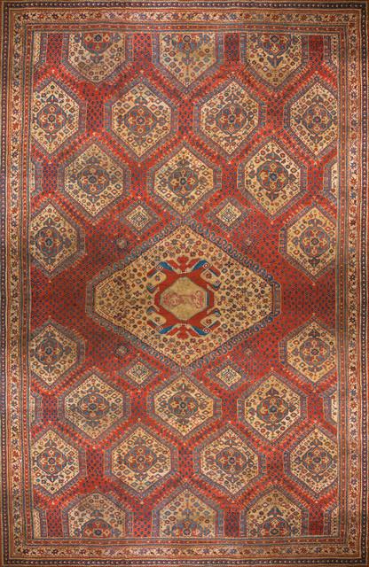 Antique Turkish Oushak Carpets contemporary-rugs