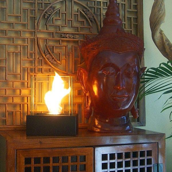 "Nu-Flame Lampada 10"" x 12"" Tabletop Bio-Ethanol Fireplace NF-T2LAA modern-tabletop-fireplaces"