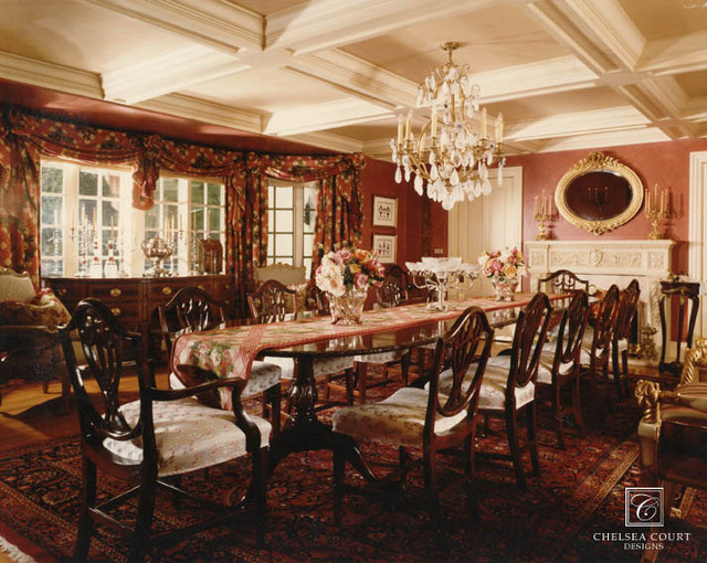 Formal dining room for Formal dining room ideas