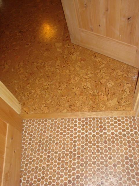 Jelinek Cork Mosaic flooring