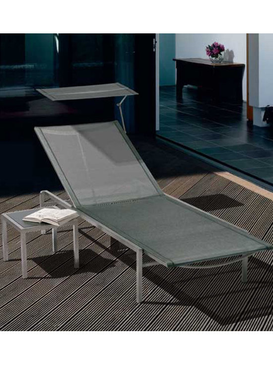 Barlow Tyrie - Barlow Tyrie Equinox Stacking Sling Lounger - Barlow Tyrie manufacturers an extensive range of outdoor furniture crafted from teak, all-weather wicker, stainless steel and aluminium. Their traditional and contemporary designs include deep seating chairs, dining chairs, tables, steamers, benches and swing seats.