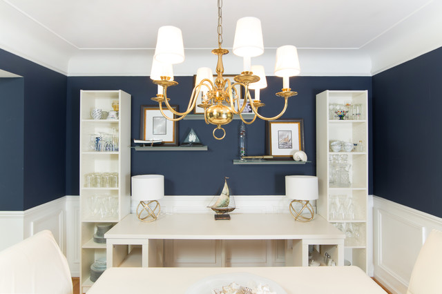 Dual purpose dining room library workroom for Dual purpose dining room ideas