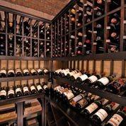 Rancho Santa Fe traditional-wine-cellar