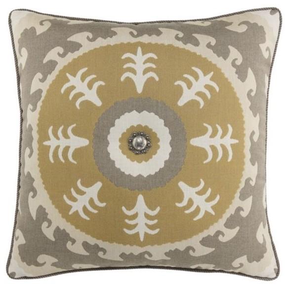 Elaine Smith Sedona Sun with Concho Pillow eclectic-outdoor-pillows