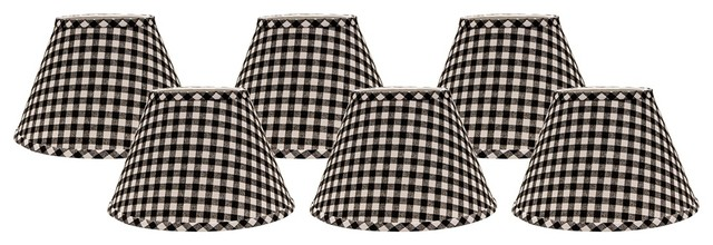 Jamestown Black & White French Country Toile Lamp Shade ...   Black And White Lamp Shades