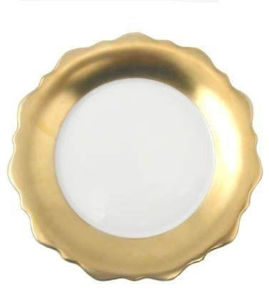 Used JL Coquet Samoa 24K Gold Dinner Plates contemporary-plates