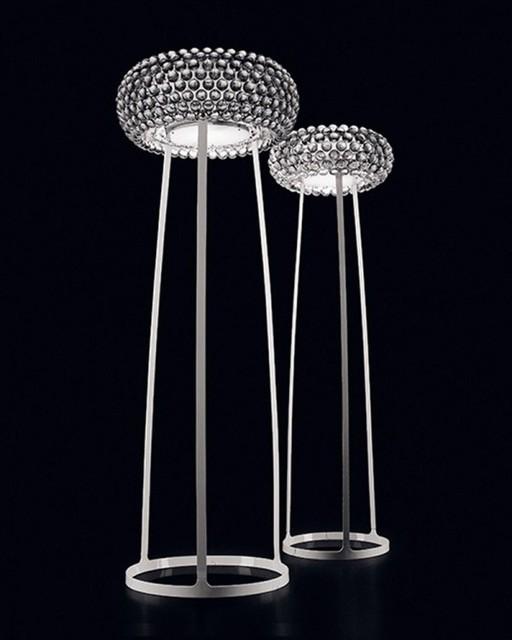Modern Decor Living Room Crystal Ball Floor Lamp Modern