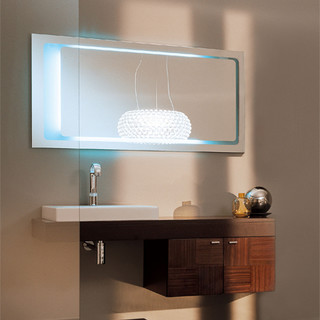 decorative wenge wall mounted vanity contemporary