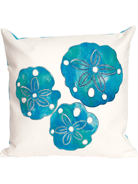 Liora Manne Sand Dollar Throw Pillow