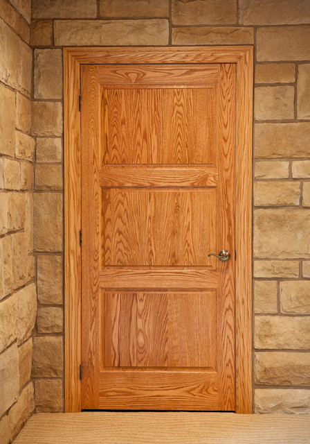 3 panel door front doors cleveland by keim lumber - 30 x 80 exterior door with pet door ...