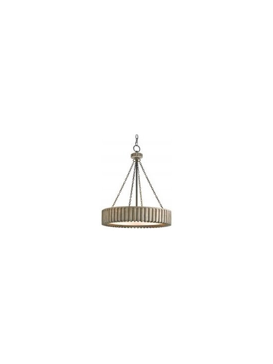 Currey and Company Greyledge Transitional Chandelier - CNC-9326 - Currey and Company Greyledge Transitional Chandelier - CNC-9326