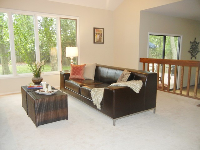 Updated to Sell! contemporary-living-room