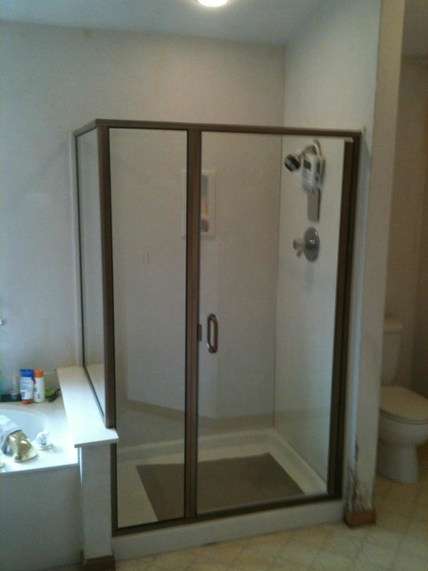 custom shower enclosures shower stalls and kits st