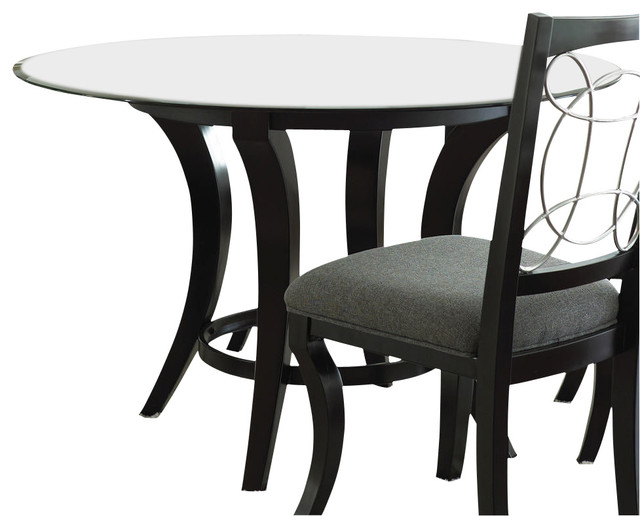 Steve Silver Cayman 48 Inch Round Dining Table W Beveled