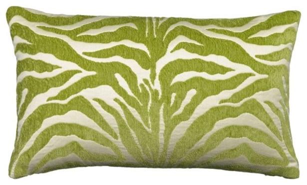 Elaine Smith Lime Outdoor Pillows contemporary-outdoor-pillows