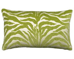 Elaine Smith Lime Outdoor Pillows contemporary-outdoor-pillows