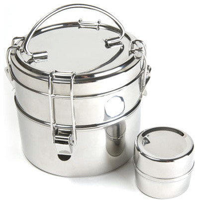 Stainless Steel Lunch Box traditional food containers and storage
