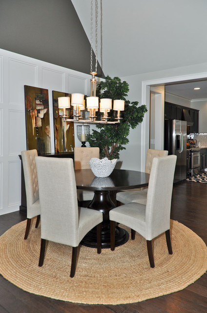 Signature Homes Dining Room at Chace Lake dining-room