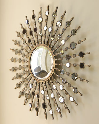 Kimani Starburst Mirror traditional mirrors