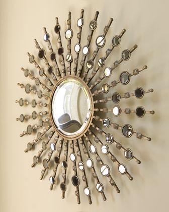 Kimani Starburst Mirror traditional-mirrors