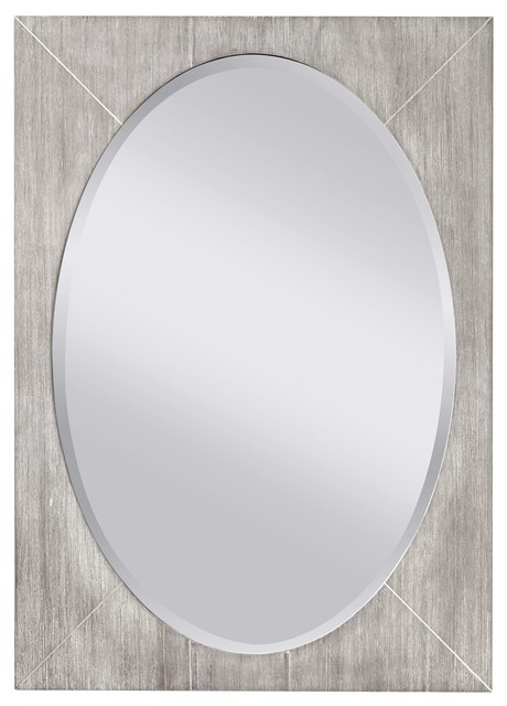Murray Feiss Seaside Transitional Oval Mirror X Yg Hww4611rm Transitional Mirrors By