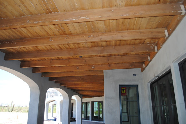 Pin french home exposed beam ceiling ideas on pinterest