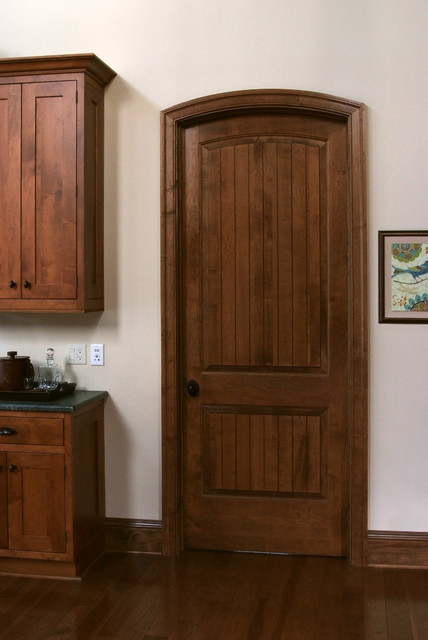 solid maple sante fe 8 ft interior door craftsman