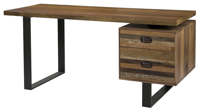 Charles Desk - Industrial - Desks And Hutches - new york ...
