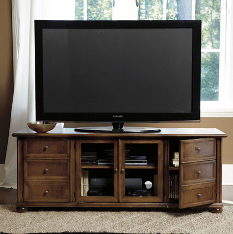 vetrina 60 inch media console transitional entertainment centers and tv stands by ballard. Black Bedroom Furniture Sets. Home Design Ideas