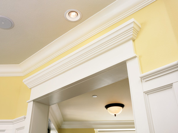 Interior crown molding millwork traditional home for Fypon crown molding trim