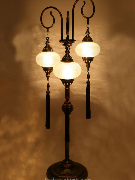 Ottoman Style Glass Floor Lamp - *Code:  HD-97206_59