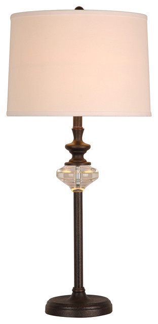 Contemporary furniture table lamps shay table lamp by bassett furniture contemporary
