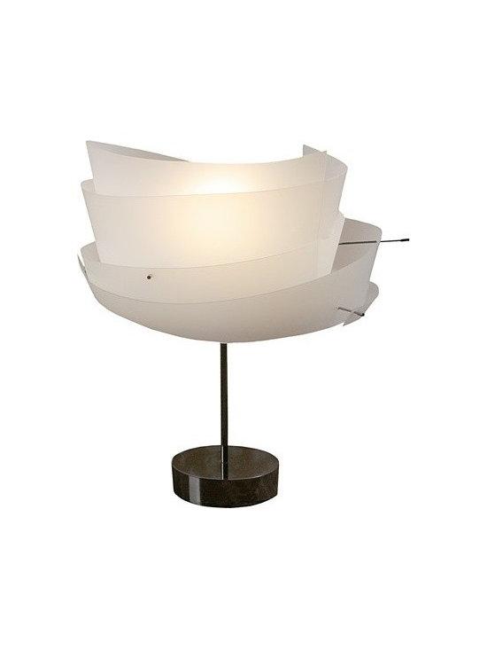 Fambuena - Ossy Table Lamp   Fambuena - Design by Cristian Malisan, 2006.