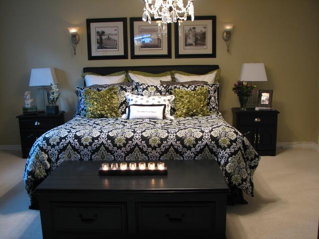 Transitional master bedroom transitional bedroom for Transitional bedroom designs