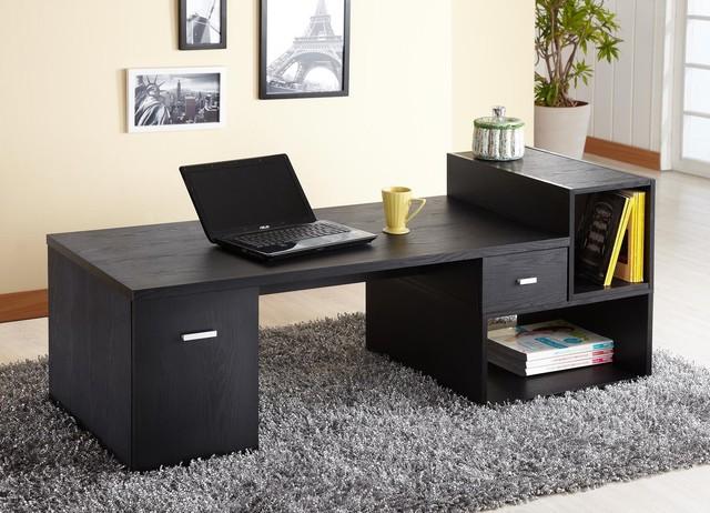 Modular TV Console/Office Desk - Modern - Entertainment ...